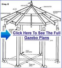 click here for gazebo plans free square gazebo plans