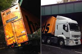 Trucking Hell: Halfords Sorry After 'We Fit' Lorry Got STUCK Under ... Truck Gets Stuck Under Euclid Bridge That Bit Of Topsoil That Got And Didnt Come Out At Flickr A Truck Driver Stands Next To His Vehicle Which On The A61 Driver Rescued After In High Water Wfmz Meat Yea It Drier Farther Got Stuck In The Muddy Road Stock Photo Picture And Royalty Hundreds Goodsladen Trucks Petrbenapole Port Ronny Salerno Twitter Dtown Ccinnati Two Drivers Wait As Several Are Traffic Metaphor Mud A True Story Family Before Dad Took Grandmas For Drive Throttle Wide Removed From Banksville Pittsburgh Postgazette