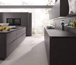 cuisine en dur technodesign alno modèle alnostar dur gris lave cuisine design