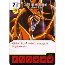 Slifer The Sky Dragon Deck Profile by The Sky Dragon Lightning Blast 101 120