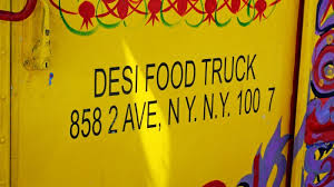A Rare Spicy Indian Take On Chili At The Desi Food Truck In SoHo