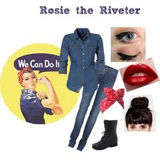 Rosie The Riveter Halloween Tutorial by Rosie The Riveter Halloween Costume Would Be A Really Cool Last