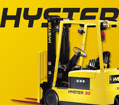 100 Ad Lift Truck Hyster Corporate Branding Vertising Campaign I NRG