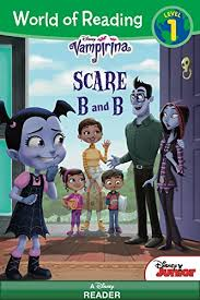 Disney Store Scares Up An by World Of Reading Vampirina Scare B U0026b Level 1 World Of Reading