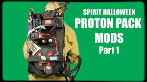 Spirit Halloween Jobs 2017 by Spirit Halloween Proton Pack Mods Part 1 Youtube