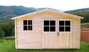 abri de jardin marseille 16m en bois en kit sans permis de