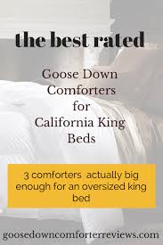 Top 3 California King Down forters – The Best Rated forters