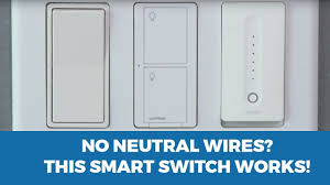 smart light switch with no neutral wire lutron