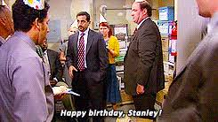 the office birthday animated GIF the office birthday animated GIF