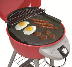 char broil patio bistro cast iron griddle outdoor living