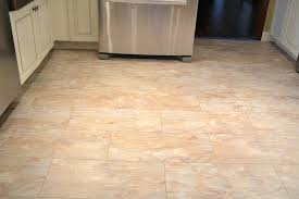 image of kitchen laminate flooring that looks like tile porcelain