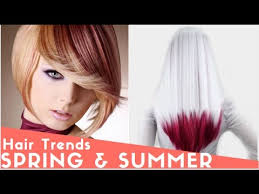 2017 Spring And Summer Hair Color Trends
