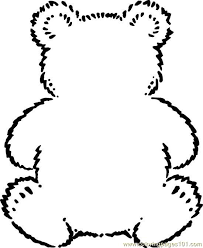 Free Printable Coloring Page Teddybear Mammals Gt Bear