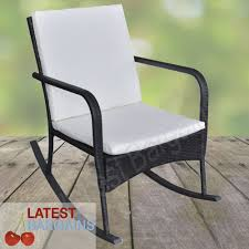 Outdoor Rattan Rocking Chair Garden Arm Chair Seat Patio Deck ... Gift Mark Deluxe Childs Spindle Rocking Chair In White 90360126 Special Tomato Pediatric Adapted Equipment Soft Touch Available How To Fix Repair Replace Parts Of An Office Chair Antique Seat Replacement And Painted Finish Outdoor Table Set 3 Pieces Poly Rattan Brown Patio Shop Humanscale Freedom Replacement Arm Supports Best Home Furnishings Jive C8209gp Swivel Gliding Rocker Decoration Wooden Parts Small Recliner For Diy Leather Youtube