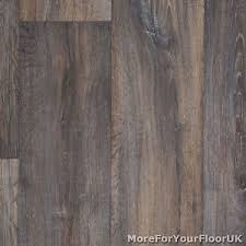 Image Is Loading Dark Brown Vintage Wood Plank Vinyl Flooring Kitchen