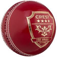 Gray Nicolls Cricket Balls Crest 4 Star 156g Red Front