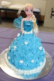 Frozen Cake – Elsa & Anna