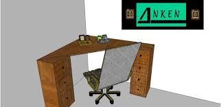 meuble bureau d angle petit bureau d angle le de anken etienne