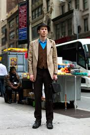 38th St NYC By The Sartorialist 6 Dark Brown Shoes
