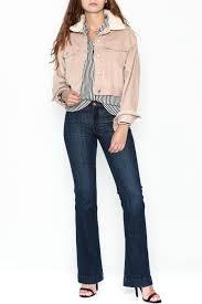 lunik fur corduroy jacket from new york city by dor l u0027dor u2014 shoptiques