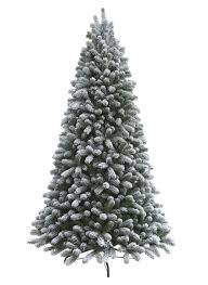 Flocked Artificial Christmas Trees At Walmart by Foot King Flock Artificial Christmas Tree Garden Of Clearance