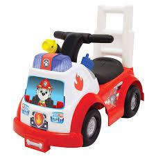 100 Radio Flyer Fire Truck Amazoncom Paw Patrol Marshall Engine RideOn Ride On Toys