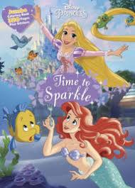 Disney Princess Time To Sparkle Jumbo Coloring Book Plus Stickers