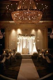 Indoor Wedding Decorations Ceremony