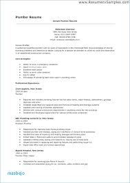 Plumber Resume Examples Linkedin Profile To