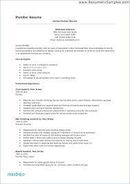 Plumber Resume Examples Linkedin Profile To Resume