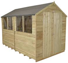 6x5 Shed Double Door by Sheds 10 X 8 3m X 2 4m Gardening Shop Uk