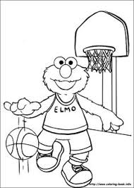 Sesame Street Coloring Picture Nice Pages
