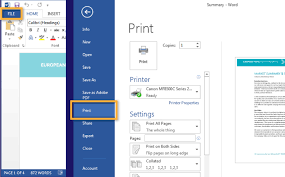 Print To PDF From Office