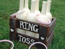 Wine Bottle Decorations Rustic Wedding