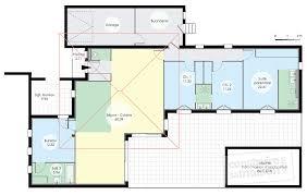 plan maison plain pied 6 chambres maison de plain pied 6 dé du plan de maison de plain pied 6