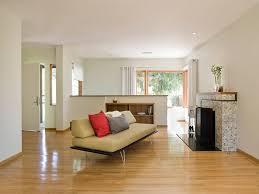 mid century modern renovation living room modern with wood trim