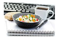 dejeuner bureau dejeuner équilibré au bureau les fruits et légumes frais
