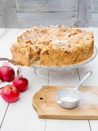 apfelkuchen mit pudding und mandelstreuseln rezepte ard