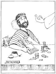 St Matthew Coloring Page