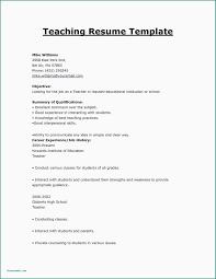 Pre K Teacher Resume Substitute Sample