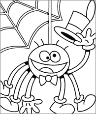 Halloween Coloring Pages 26