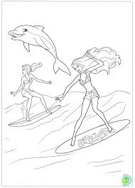 5 Incredible Barbie Coloring Pages For Kids