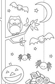 Printable Halloween Coloring Pages Children