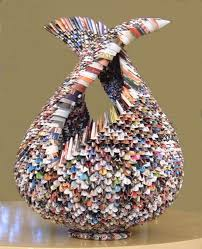 Ben Dror Upcycles Tea Wraps Into Miniature Materpieces