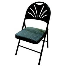 pdg fabric padded folding chair at menards