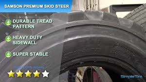 SAMSON PREMIUM SKID STEER TIRE REVIEW | SimpleTire.com - YouTube China Quarry Tyre 205r25 235r25 Advance Samson Brand Radial 12x165 Samson L2e Skid Steer Siwinder Mudder Xhd Tire 16 Ply Meorite Titanium Black Unboxing Mic Test Youtube 8tires 31580r225 Gl296a All Position Truck Tire 18pr High Quality Whosale Semi Joyall 295 2 Tires 445 65r22 5 Gl689 44565225 20 Ply Rating 90020 Traction Express Mounted On 6 Hole Bud Style Tractor Tyres Prices 11r225 Buy Radial Truck Gl283a Review Simpletirecom