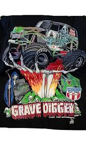 Amazon.com: Size Large Dennis Anderson Grave Digger Black Monster ... Monster Truck El Toro Loco Kids Tshirt For Sale By Paul Ward Jam Bad To The Bone Gray Tshirt Tvs Toy Box For Cash Vtg 80s All American Monster Truck Soft Thin T Shirt Vintage Tshirt Patriot Jeep Skyjacker Suspeions Aj And Machines Shirt Blaze High Roller Shirts Jackets Hobbydb Kyle Busch Inrstate Batteries Amazoncom Mud Pie Baby Boys Blue Small18 Toddlers Infants Youth Willys Jeep Military Nostalgia Ww2 Dday Historical Vehicle This Kid Needs A Car Gift