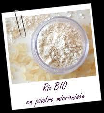 poudre de riz cuisine poudre de riz micronisée bio propriétés et utilisations aroma zone