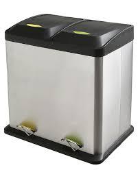 poubelle cuisine 50 litres pedale belles poubelles galerie photos d article 9 16