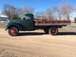 Former Farm Truck: 1948 International Flat Bed